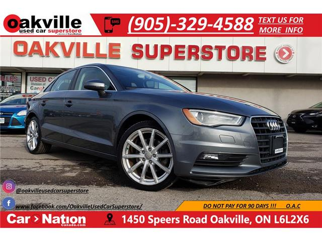 2015 Audi A3 1.8T PROGRESSIV | NAVI | LEATHER | SUNROOF | BT (Stk: P12145A) in Oakville - Image 1 of 22