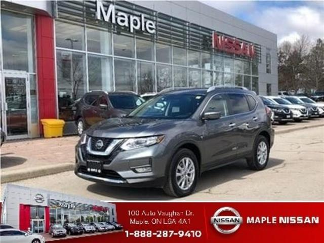 2019 Nissan Rogue SV AWD-Roof, Alloys,Starter,Blind spot! (Stk: UM1608) in Maple - Image 1 of 23