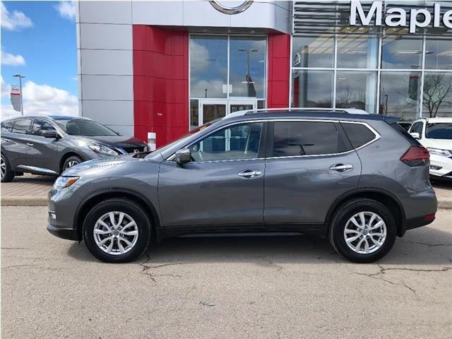 2019 Nissan Rogue SV AWD-Roof, Alloys,Starter,Blind spot! (Stk: UM1608) in Maple - Image 2 of 23