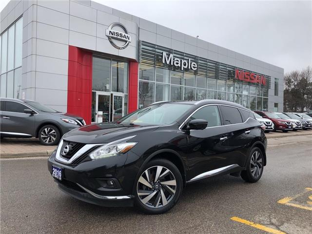 2016 Nissan Murano Platinum AWD-Bose,Leather,Navi,Loaded! (Stk: UM1605) in Maple - Image 1 of 23