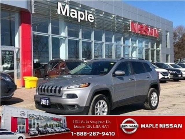 2015 Jeep Cherokee 4WD--Leather,Alloys,Remote Starter! (Stk: UM1603) in Maple - Image 1 of 21