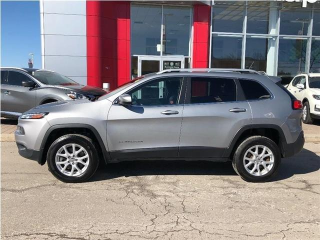 2015 Jeep Cherokee 4WD--Leather,Alloys,Remote Starter! (Stk: UM1603) in Maple - Image 2 of 21