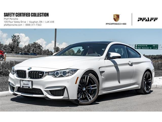 2016 BMW M4 Coupe (Stk: U7822A) in Vaughan - Image 1 of 22