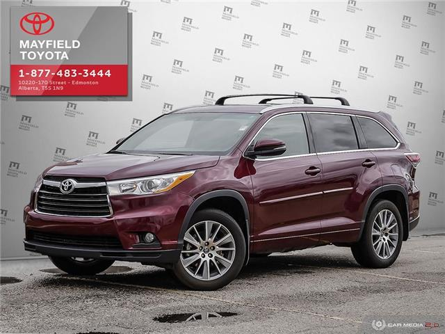 2016 Toyota Highlander XLE (Stk: 190698A) in Edmonton - Image 1 of 20