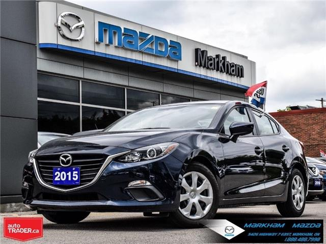 2015 Mazda Mazda3 GX (Stk: H190573A) in Markham - Image 1 of 23