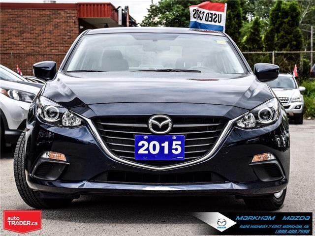 2015 Mazda Mazda3 GX (Stk: H190573A) in Markham - Image 2 of 23