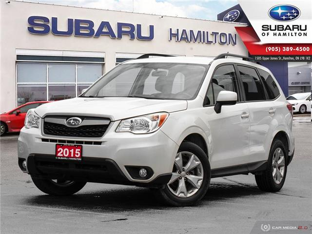 2015 Subaru Forester 2.5i Convenience Package (Stk: U1445) in Hamilton - Image 1 of 27