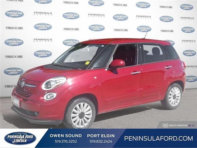 2015 Fiat 500L Sport (Stk: 19RA10B) in Owen Sound - Image 1 of 24