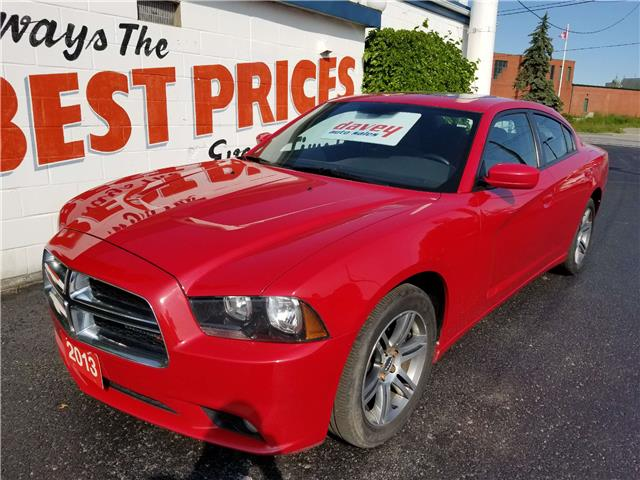 2013 Dodge Charger SXT (Stk: 19-422T) in Oshawa - Image 1 of 15