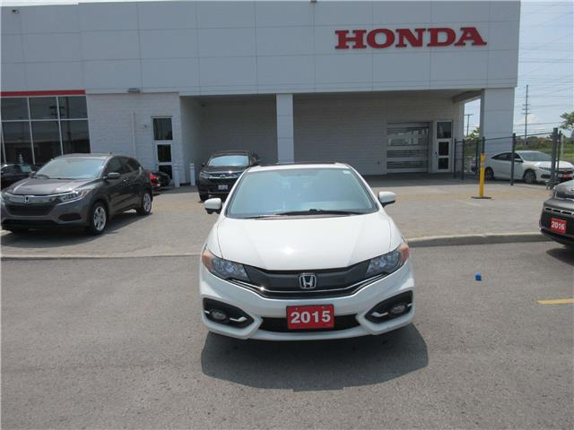 2015 Honda Civic EX-L Navi (Stk: SS3501) in Ottawa - Image 2 of 14