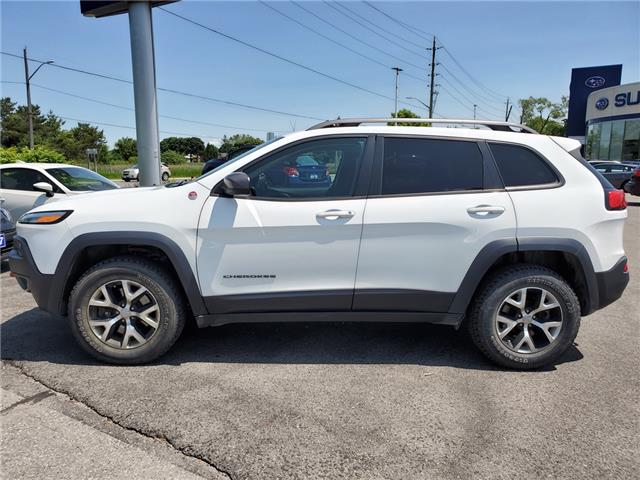 2017 Jeep Cherokee Trailhawk (Stk: 19S853AA) in Whitby - Image 2 of 26