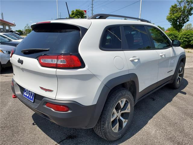 2017 Jeep Cherokee Trailhawk (Stk: 19S853AA) in Whitby - Image 5 of 26