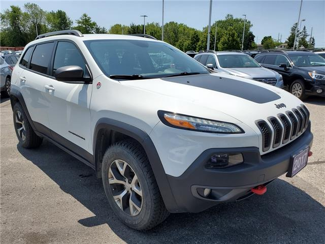 2017 Jeep Cherokee Trailhawk (Stk: 19S853AA) in Whitby - Image 7 of 26