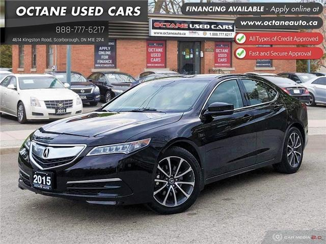 2015 Acura TLX Tech (Stk: ) in Scarborough - Image 1 of 25