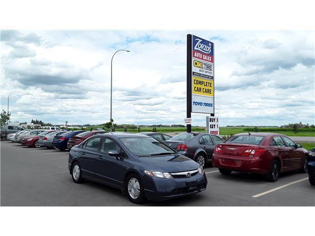 2007 Honda Civic Hybrid Base (Stk: P480) in Brandon - Image 1 of 10