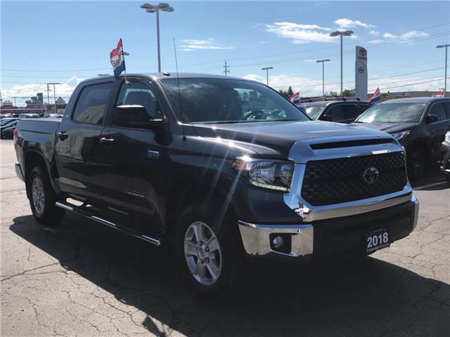 2018 Toyota Tundra SR5 CREWMAX 4X4 5.7L AUTO ALLOYS (Stk: 1908361) in Cambridge - Image 4 of 18
