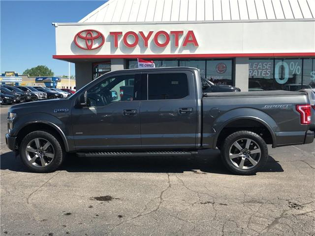 2017 Ford F-150 XLT SPORT SUPERCREW 4X4 APPEARANCE PKG (Stk: P0055111) in Cambridge - Image 1 of 25