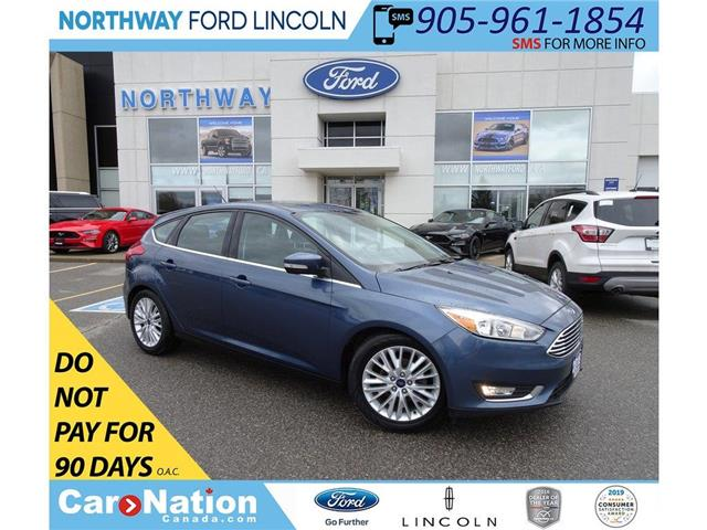 2018 Ford Focus Titanium | CERTIFIED PRE-OWNED - 2.9%  | SUNROOF | (Stk: DR213) in Brantford - Image 1 of 43