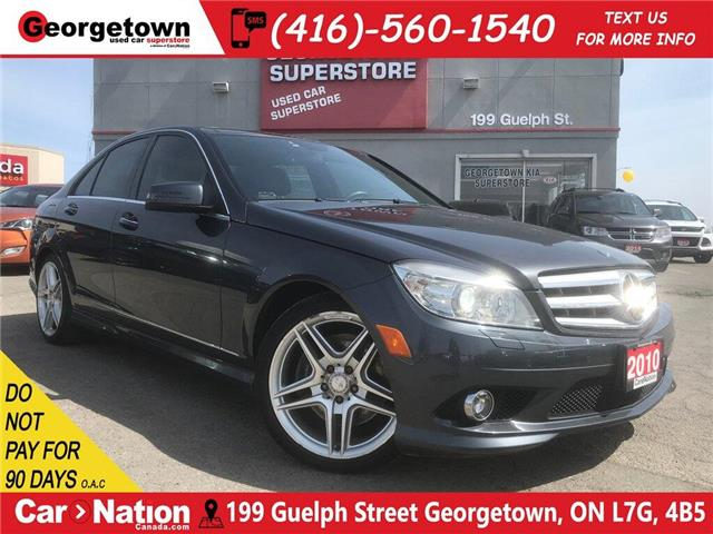 2010 Mercedes-Benz C-Class C350 4MATIC | LEATHER | PANO | NAVI | BU CAM (Stk: TL20001A) in Georgetown - Image 1 of 31