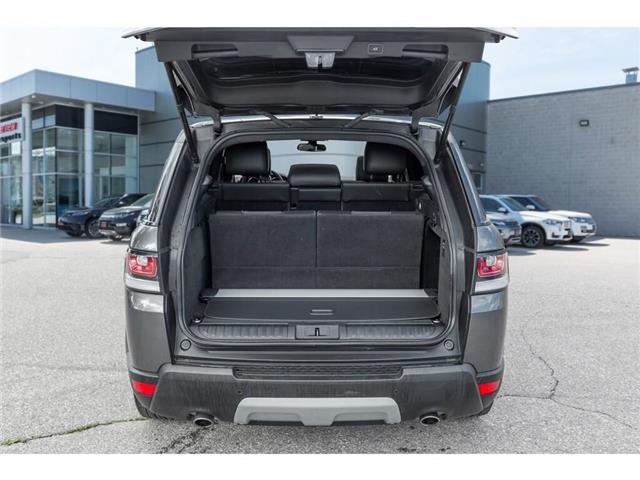 2016 Land Rover Range Rover Sport DIESEL Td6 HSE (Stk: 19HMS555) in Mississauga - Image 7 of 21