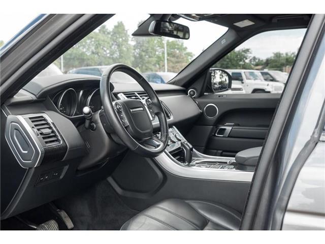 2016 Land Rover Range Rover Sport DIESEL Td6 HSE (Stk: 19HMS555) in Mississauga - Image 8 of 21