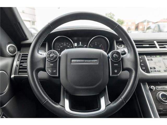 2016 Land Rover Range Rover Sport DIESEL Td6 HSE (Stk: 19HMS555) in Mississauga - Image 9 of 21