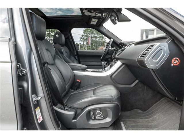 2016 Land Rover Range Rover Sport DIESEL Td6 HSE (Stk: 19HMS555) in Mississauga - Image 18 of 21
