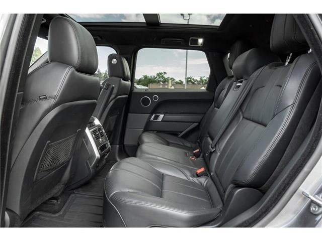 2016 Land Rover Range Rover Sport DIESEL Td6 HSE (Stk: 19HMS555) in Mississauga - Image 19 of 21