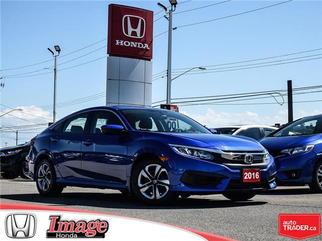 2016 Honda Civic LX (Stk: 9C587A) in Hamilton - Image 1 of 21