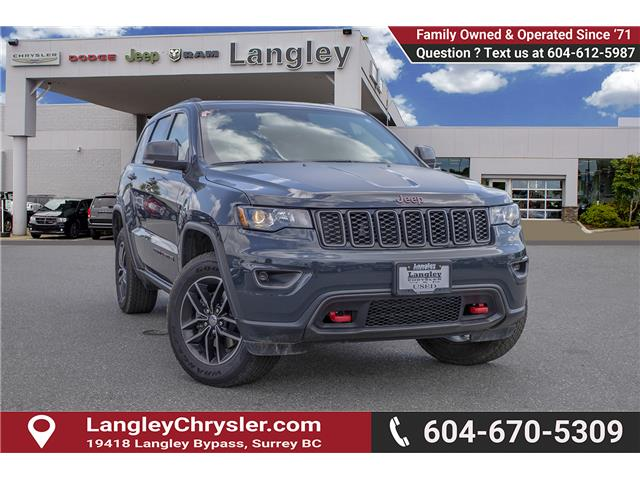 2018 Jeep Grand Cherokee Trailhawk (Stk: EE909490) in Surrey - Image 1 of 29