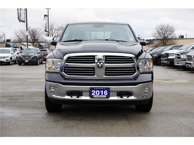 2016 RAM 1500 BIGHORN| REAR CAM| BLUETOOTH| REMOTE START & MORE (Stk: P3166) in Burlington - Image 2 of 45