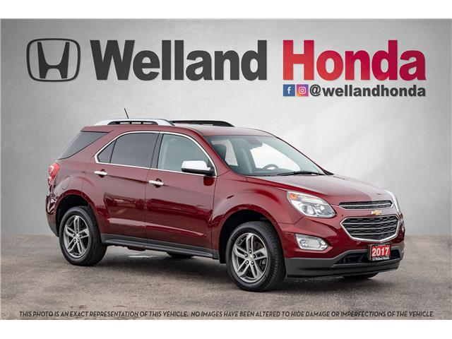 2017 Chevrolet Equinox Premier (Stk: U19230) in Welland - Image 1 of 32