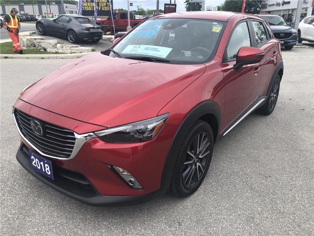 2018 Mazda CX-3 GT (Stk: 03342P) in Owen Sound - Image 4 of 16