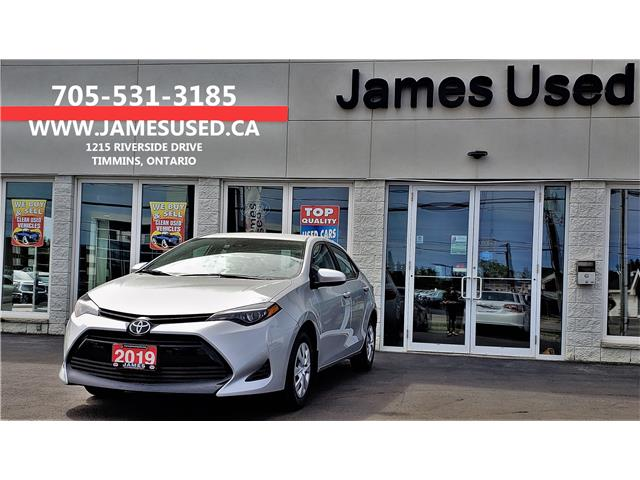 2019 Toyota Corolla CE (Stk: N19125A) in Timmins - Image 1 of 12