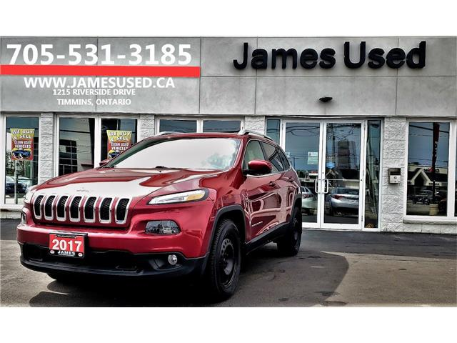 2017 Jeep Cherokee North (Stk: N19290A) in Timmins - Image 1 of 15