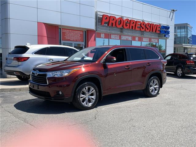 2014 Toyota Highlander LE (Stk: ES022522) in Sarnia - Image 1 of 22