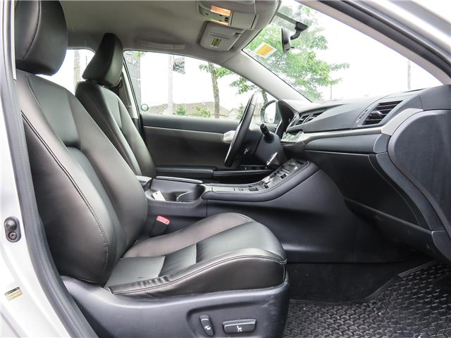 2013 Lexus CT 200h Base (Stk: 12216G) in Richmond Hill - Image 12 of 20
