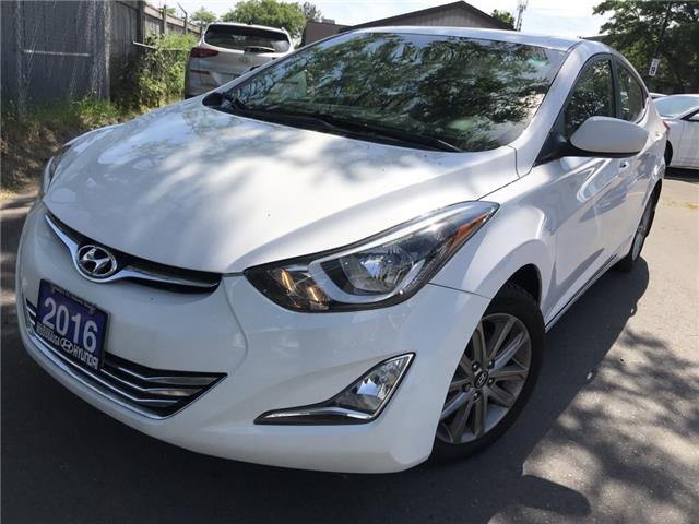 2016 Hyundai Elantra Sport Appearance (Stk: P39369AA) in Mississauga - Image 1 of 17