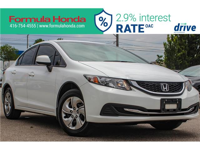 2013 Honda Civic LX (Stk: 19-1656A) in Scarborough - Image 1 of 24