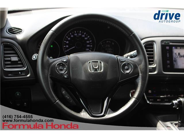 2016 Honda HR-V EX-L (Stk: 19-1814AC) in Scarborough - Image 12 of 30