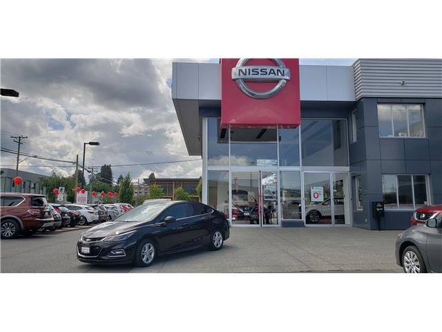 2016 Chevrolet Cruze LT Auto (Stk: 9R7139A) in Duncan - Image 1 of 4