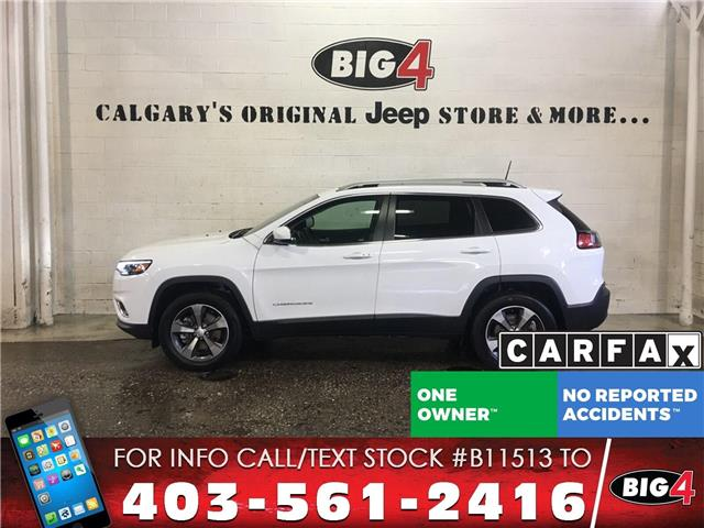2019 Jeep Cherokee Limited (Stk: B11513) in Calgary - Image 1 of 15