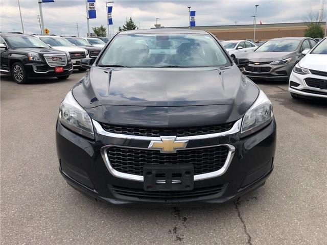 2015 Chevrolet Malibu LS|AUTOMATIC|BLUETOOTH|CRUISE CTRL|TRACTION CTR| (Stk: PW18244A) in BRAMPTON - Image 2 of 10