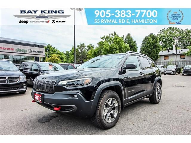 2019 Jeep Cherokee Trailhawk (Stk: 6862R) in Hamilton - Image 1 of 17