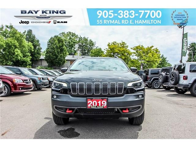 2019 Jeep Cherokee Trailhawk (Stk: 6862R) in Hamilton - Image 2 of 17