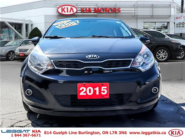 2015 Kia Rio  (Stk: 902050A) in Burlington - Image 2 of 25