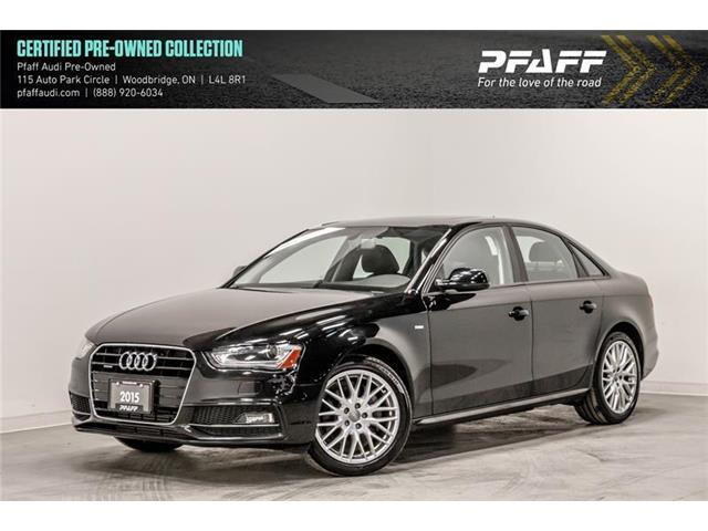 2015 Audi A4 2.0T Komfort plus (Stk: C6781) in Woodbridge - Image 1 of 22