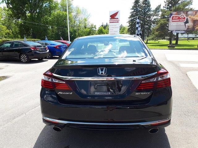 2017 Honda Accord Sport (Stk: E-2208) in Brockville - Image 19 of 23