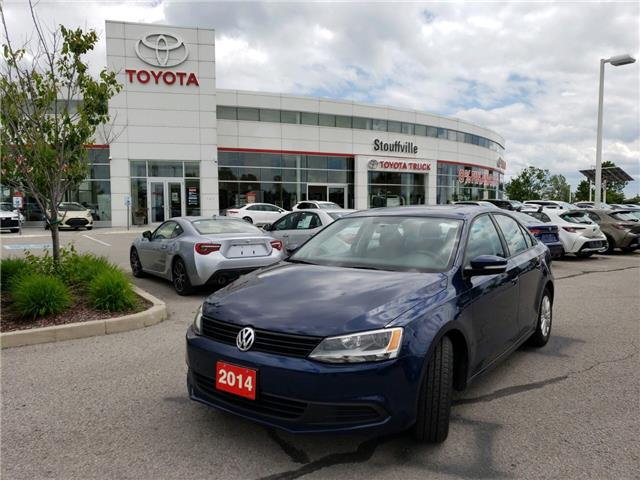 2014 Volkswagen Jetta 2.0L Comfortline (Stk: 190758A) in Whitchurch-Stouffville - Image 1 of 10