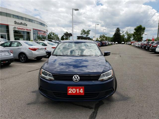 2014 Volkswagen Jetta 2.0L Comfortline (Stk: 190758A) in Whitchurch-Stouffville - Image 2 of 10